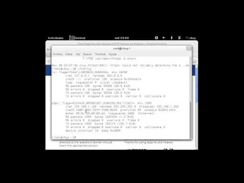 Servidor HTTP Fedora 17