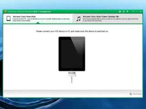 Lost Notes on iPad-How to Recover Deleted or Lost Notes on iPad Air, iPad 2/Mini/1/3/4