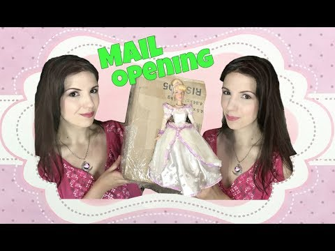 Opening mail from my friend Khrystina - Barbie, Disney, dolls, books and lots of goodies!