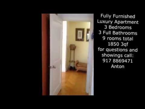 FULLY FURNISHED LUXURY APARTMENT FOR RENT NYC