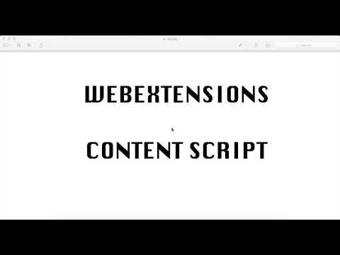 Your first Firefox extension - contentScript - Firefox WebExtensions API