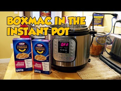 BoxMac 86: Kraft Three Cheese in the Instant Pot