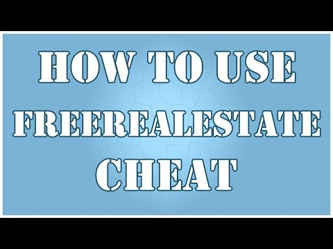 How To Use freeRealEstate Cheat in Sims 3