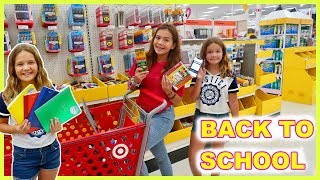 BACK TO SCHOOL SHOPPING   SISTER FOREVER