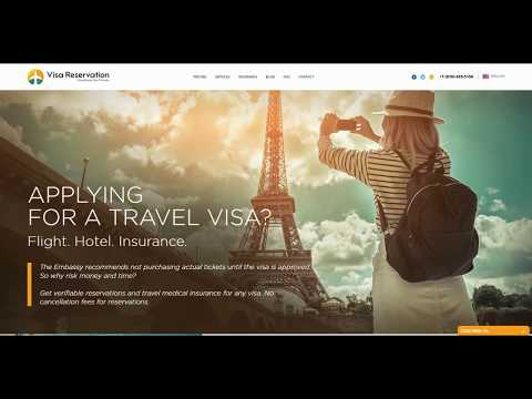 How to get a flight itinerary hotel booking and travel medical insurance for any visa