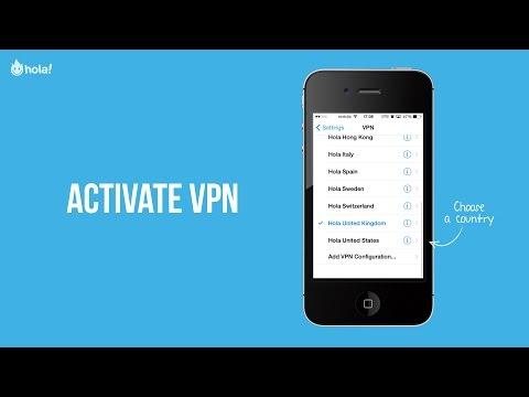 Hola Privacy VPN - Activate VPN