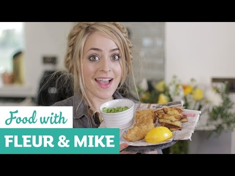 Beer Battered British Fish And Chips | Fleur & Mike