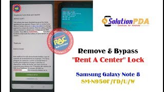 Remove Unlock Rent A Center RAC MDM Knox Samsung S10 G973F