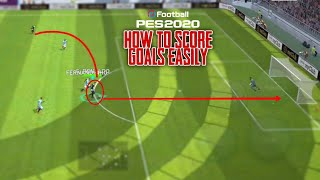 Easy Trick To Score Goals In Superstar Mode | Pes 2020 Mobile