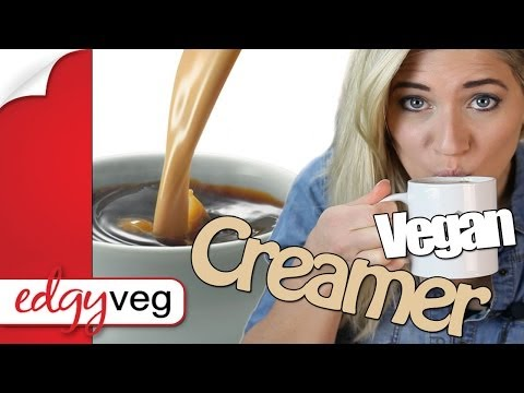 How to Make Vegan Coffee Creamer Dairy-free | Edgy Veg