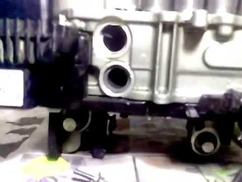 VW, Audi, Skoda mechatronics DSG 7 speed 0AM disassembled