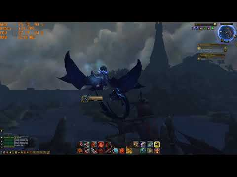 World Of Warcraft Legion 4K Benchmark i7 6700k GTX 1070 16GB Ram