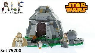 Lego Star Wars 75200 Ahch To Island™ Training - Lego Speed Build Review