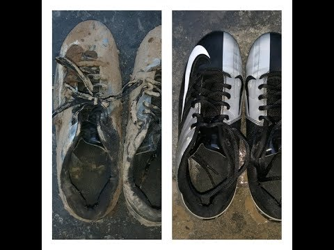 How to clean dirty football boots at home