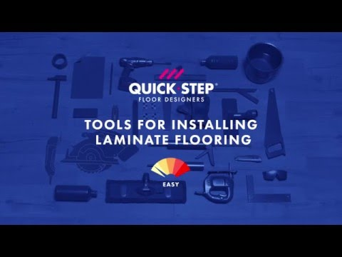 All the tools you need to install laminate | Tutorial by Quick-Step