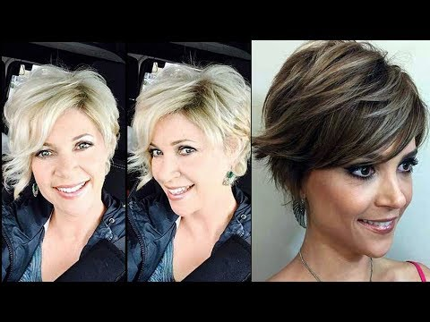 LATEST SHORT HAIRCUTS FOR WOMEN OVER 40