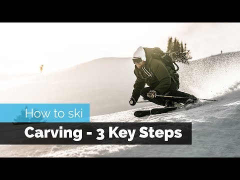 HOW TO SKI | CARVING - 3 KEY STEPS TO GET STARTED