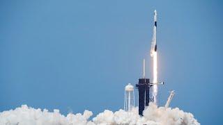 Watch again: Nasa and SpaceX launch Crew Dragon spacecraft with Robert Behnken and Douglas Hurley