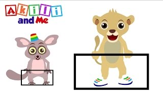 The Rectangle Song | Akili and Me | Educational Song About Shapes