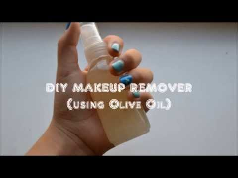 DIY Makeup Remover (using Olive Oil)