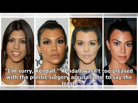 Side-By-Side Pics Seemingly Prove the Kardashians' Plastic Surgery Pasts (EXCLUSIVE)