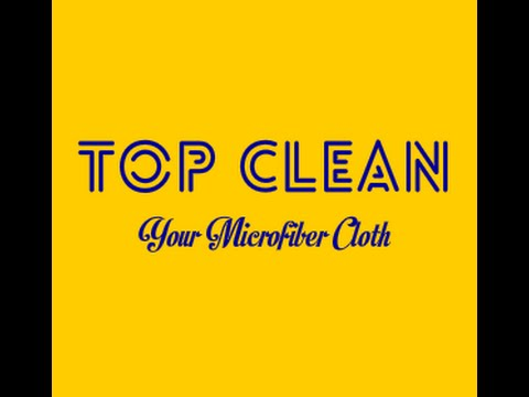 Video promotional for Union Clean(Top Clean) microfiber cloth