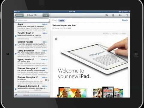 6  file an email on an iPad