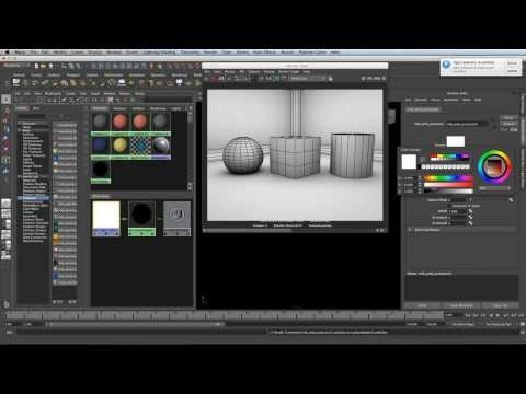 How to quick render wireframe in Maya 2013