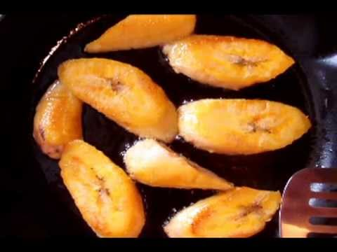 Healthy Fried Plantain. Easy and Simple Recipe.