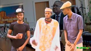 Dangote's Cheque Makes Olamide Prostrate for Don Jazzy - Parody