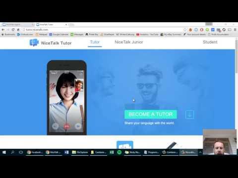 nice talk tutor set up guide - make money online