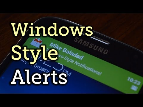 Get Windows Phone Notifications on Your Samsung Galaxy S4 [How-To]