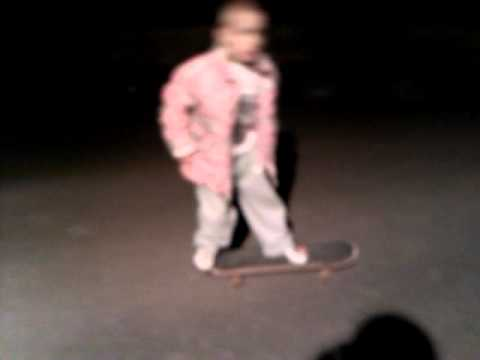 How To Ollie a Skateboard~Jack