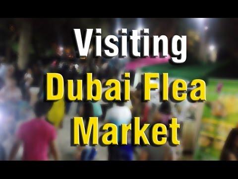 Dubai Flea Market - Student Life Vlogs