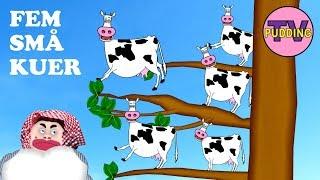 Fem små kuer - Norske barnesanger
