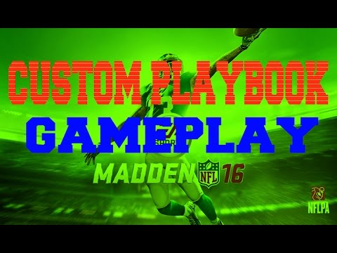 Madden 16 Unstoppable Offense / Defense Custom Playbook Gameplay #1