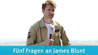 Stars aufm Dach: James Blunt