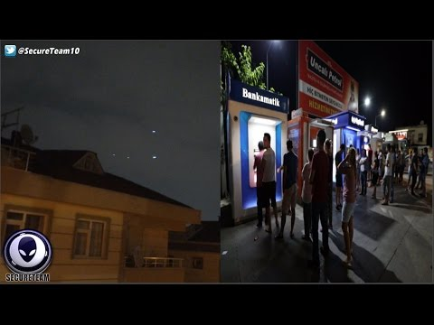 UPDATE: Mass UFO Event Over Turkey Being Suppressed 11/28/16