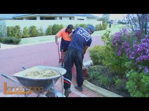 Landscaping & Kerbing Perth Western Australia