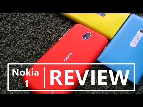 Nokia 1 Review - Budget phone for the masses