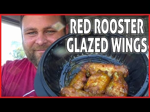 Red Rooster Glazed Wings 🍗 Flaming Mango Review - Get Saucy
