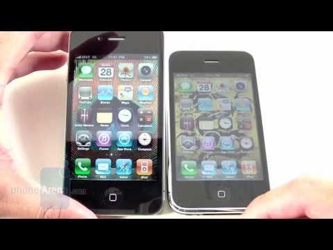 Apple iPhone 4 vs. Apple iPhone 3GS: side by side