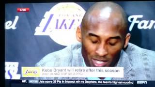 Kobe Bryant Speaking Italian