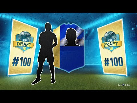 THIS TOTS CARD IS BEAST! - #FIFA18 DRAFT TO GLORY #100