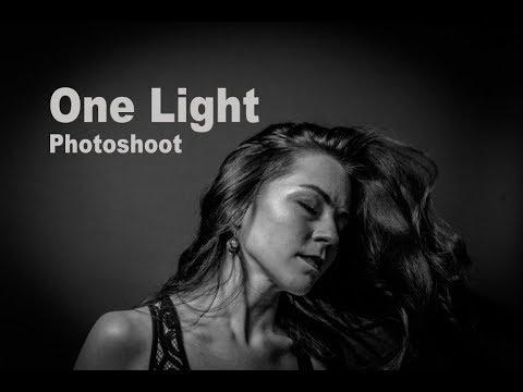 ONE-LIGHT PHOTOSHOOT