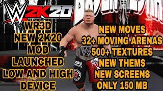 Wr3d 2K20 | New Wr3d Mod | By Aw | Wwe 2k20 Wr3d Mod | 30+