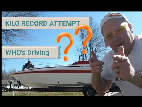 KILO RECORD RUN ATTEMPT by FOUNTAIN ... UPDATE ... CHANGE OF DRIVERS - E95