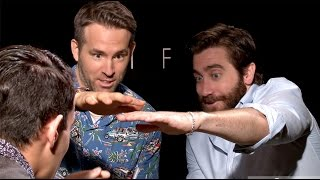 UNCENSORED MAGIC: Ryan Reynolds & Jake Gyllenhaal Freak Out! | Daniel Fernandez