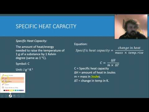 Chem Water 12 Specific Heat Capacity