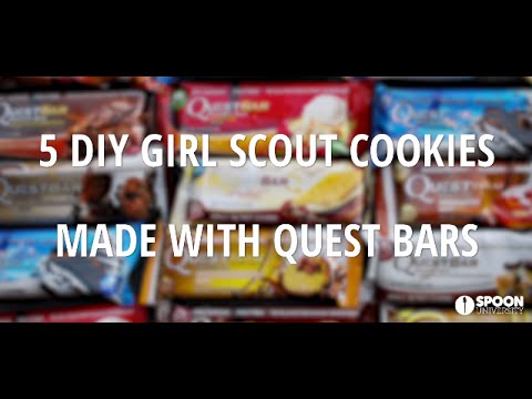 DIY Girl Scout Cookies Made With Quest Bars